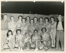 The Utah Shamrocks, historic fast-pitch softball team, in 1952. Courtesy Donna Poll