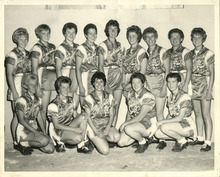 The Utah Shamrocks, historic fast-pitch softball team, in 1962. Courtesy Donna Poll