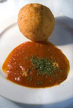 Scott Sommerdorf  |  The Salt Lake Tribune              The arancini at Per Noi Trattoria, Friday, July 20, 2012.