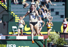 Steeplechase runner Shalaya Kipp, a Skyline High School grad who now runs for Colorado and hopes to qualify for the London Olympics by racing well enough at the upcoming U.S. Olympic Trials in Eugene, Ore. Courtesy University of Colorado