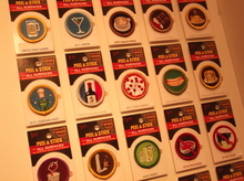 Finally, some merit badges for the rest of us. Actually, they are called