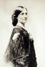 Photo Courtesy of the Utah Historical Society   Mrs. Selden Irwin played at the Salt Lake Theatre and the Fort Douglas Theatre in 1864. Her husband was also a pioneer of the SL Theatre.