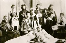 Photo Courtesy of the Utah Historical Society   Salt Lake Theatre actors around 1910.