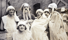 Photo Courtesy of the Utah Historical Society   Salt Lake Theatre actors in 1918.