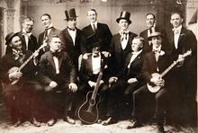 Photo Courtesy of the Utah Historical Society   Minstrels at Richfield.