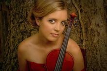 Utah Symphony associate concertmaster Kathryn Eberle. Courtesy Mary Elizabeth Long
