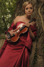 Utah Symphony violinist Kathryn Eberle.  Courtesy Mary Elizabeth Long