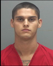 Courtesy Salt Lake County Jail Alexander Leroy Vasquez, 24, arrested on suspicion of murder.