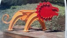 A 300-pound, $12,000 sculpture stolen from the Park City Kimball Arts Festival.