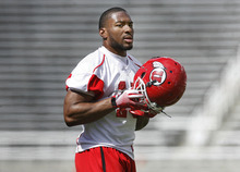 Scott Sommerdorf  |  Tribune file photo              Utah RB John White, shown here during spring practice, is ready  and able to become the Utes' runniing workhorse this season. But the hope is he won't have to carry the ball as much as 2011.