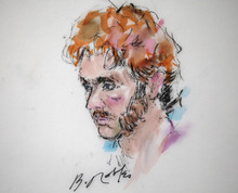 This courtroom sketch shows suspect James Holmes during a motions hearing in district court in Centennial, Colo., on Thursday, Aug. 9, 2012. James Holmes has been charged in the shooting at the Aurora theater on July 20 that killed twelve people and injured more than 50. (AP Photo/Bill Robles, Pool) TV OUT