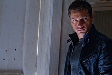 This film image released by Universal Pictures shows Jeremy Renner as Aaron Cross in a scene from
