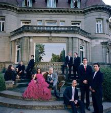 The Portland band Pink Martini.  Courtesy Autumn de Wilde
