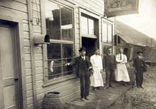 Forbes and Melich (Serbians) Saloon in Bingham, Utah around 1900. Courtesy of the Utah Historical Society