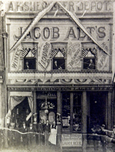 Jacob Alt's Saloon on 109 S. Main St. in Salt Lake City, 1898. Courtesy of the Utah Historical Society