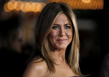 Cast member Jennifer Aniston arrives at the premiere of
