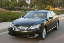 (AP Photo/Lexus) Four cars, including the Lexus ES 350, earned poor ratings. Marginal or poor ratings indicate the cars wouldn't protect occupants very well in a real-world crash.