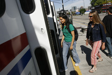 University of Utah students and employees will continue to get free transit passes for the next decade if U. trustees approve a deal between the U. and UTA. File Photo by Francisco Kjolseth/The Salt Lake Tribune 5/28/2009