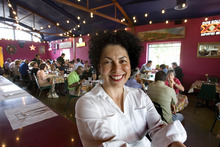 Paul Fraughton | The Salt Lake Tribune Lucy Cardenas, owner of the popular local restaurant The Red Iguana,  is a proponent of supporting local business.