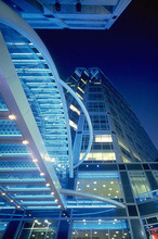 The Wells Fargo Center in Salt Lake City, designed by HKS Architects. Courtesy HKS Architects