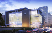 Jessie Eccles Quinney Center For Dance in Salt Lake City, designed by HKS Architects. Courtesy HKS Architects