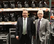 Rick Egan    The Salt Lake Tribune   Scott and Steve Webb, of Webb Audio Visual, in their Salt Lake warehouse, Friday, August 17, 2012. The Utah Department of Workforce Services will release its monthly estimate of unemployment in the state.