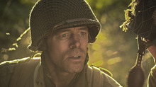 Curtis (Jasen Wade) in Saints and Soldiers: Airborne Creed. Courtesy Go Films