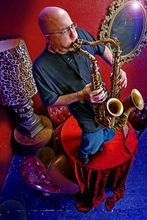 Courtesy photo Dave Matthews Band saxaphonist Jeff Coffin will play with the Crescent Super Band 8 p.m. Friday, Aug. 17, 2012, at the Gallivan Center, 239 S. Main St. in Salt Lake City.