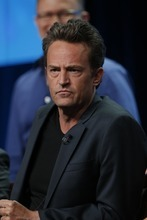 Courtesy photo Matthew Perry talks to TV critics about his new sitcom,
