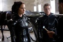 Jennifer Lawrence and Josh Hutcherson star in