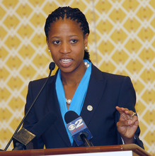 Al Hartmann  |  Tribune file photo Congressional candidate Mayor Mia Love
