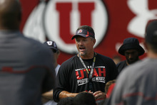Tribune file photo Utah head coach Kyle Whittingham has a 66-25 record with the Utes and has increased their profile with the Pac-12 move.