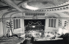 Renovation of the Capitol Theatre is depicted on Jan. 29, 1979.