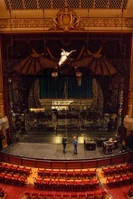 Tribune file photo Crews set up the stage at the Capitol Theatre in Salt Lake City for the Broadway sensation