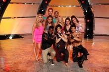 SO YOU THINK YOU CAN DANCE: Top 10 Contestants L-R Back: Lindsay Arnold, Will Thomas, Tiffany Maher, George Lawrence II, Witney Carson, Audrey Case, Eliana Girard, L-R Front: Cyrus Spencer, Cole Horibe and Chehon Wespi-Tschopp on SO YOU THINK YOU CAN DANCE airing Wednesday, August 15 (8:00-10:00 PM ET/PT) on FOX. ©2012 FOX Broadcasting Co. Cr: Adam Rose