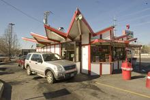Paul Fraughton | The Salt Lake Tribune The Iceberg Drive Inn  at 3900 South and 900 East in Salt Lake City.