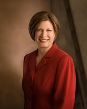 Julie B. Beck, former LDS General Relief Society presient. Beck served five years as the faith's top women's leader. Some LDS feminists would like to see more women speaking at General Conference and also raise the visibility of the church's Relief Society president. Courtesy LDS.org