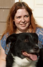 Trent Nelson  |  The Salt Lake Tribune Lisa Anderson and her dog Swift at her home in West Valley City, Utah Friday, August 10, 2012. Anderson had weight-loss surgery last year to try to get pregnant.