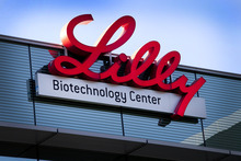Konrad Fiedler  |  Bloomberg Shares in Eli Lilly climbed Friday after the company announced what could be a step toward a long-awaited breakthrough in the treatment of Alzheimer's disease.