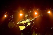 Kim Raff | The Salt Lake Tribune Mumford & Sons frontman Marcus Mumford performs at Saltair in Magna on Aug. 22, 2012.