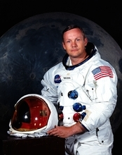 FILE - In undated photo provided by NASA shows Neil Armstrong.  The family of Neil Armstrong, the first man to walk on the moon, says he has died at age 82. A statement from the family says he died following complications resulting from cardiovascular procedures. It doesn't say where he died. Armstrong commanded the Apollo 11 spacecraft that landed on the moon July 20, 1969. He radioed back to Earth the historic news of