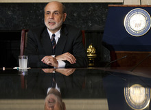 (AP Photo/Manuel Balce Ceneta, File) In August 2010, Federal Reserve Chairman Ben Bernanke's remarks at Jackson Hole triggered a sustained stock-market rally when he   hinted that the Fed might begin a second round of bond purchases, a policy called quantitative easing, or QE2.