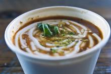 Chris Detrick  |  The Salt Lake Tribune Tomato soup at Pizzeria Limone in Cottonwood Heights.