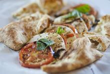 Chris Detrick  |  The Salt Lake Tribune Insalata Caprese ($5.95) made with mozzarella, sliced tomatoes, basil, olive oil and balsamic vinegar at Pizzeria Limone.