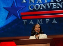 Trent Nelson  |  The Salt Lake Tribune Saratoga Springs Mayor Mia Love delivered a passionate speech Tuesday at the Republican National Convention, saying Americans are not buying what President Obama has to sell in the 2012 election.