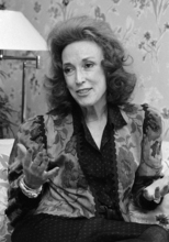 FILE - In this Sept. 20, 1982 file photo, Cosmopolitan editor Helen Gurley Brown speaks during an interview at her office in New York. Brown, longtime editor of Cosmopolitan magazine, died Monday, Aug. 13, 2012 at a hospital in New York after a brief hospitalization. She was 90. (AP Photo/Marty Lederhandler, File)