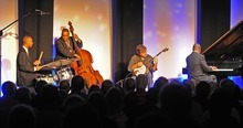 Courtesy photo Bela Fleck and the Marcus Roberts Trio will be headlining at the Moab Music Festival.