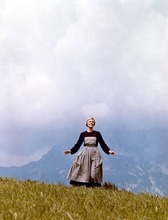 Julie Andrews in a film still from the 1965 film
