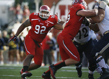 Scott Sommerdorf  |  The Salt Lake Tribune              Utah defensive tackle Star Lotulelei and the rest of the Utes figure to get a sterner test from Utah State on Friday in Logan than they received from Northern Colorado in the season opener.