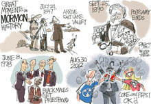 This Pat Bagley editorial cartoon appears in The Salt Lake Tribune on Sunay, September 2, 2012.